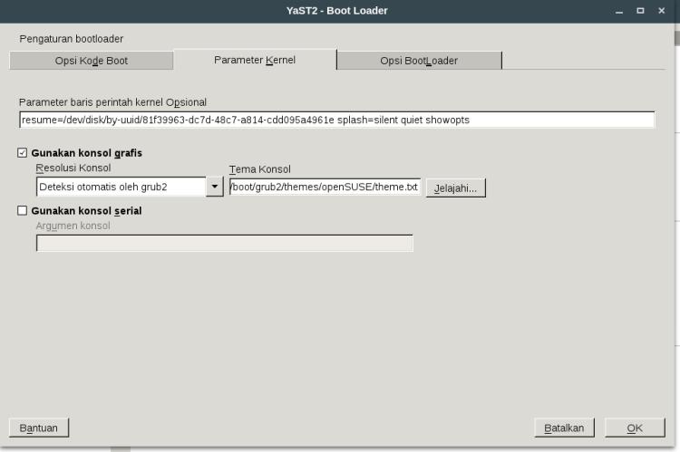 parameter kernell -YasT